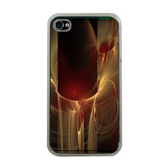 Fractal Image Apple Iphone 4 Case (clear) by Simbadda