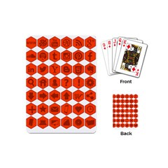 Icon Library Web Icons Internet Social Networks Playing Cards (mini)