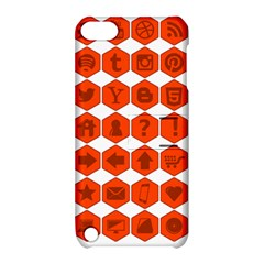 Icon Library Web Icons Internet Social Networks Apple Ipod Touch 5 Hardshell Case With Stand by Simbadda