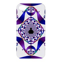 Ring Segments Apple Iphone 4/4s Premium Hardshell Case by Simbadda