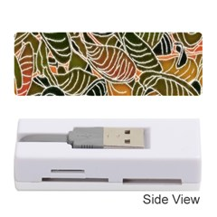Floral Pattern Background Memory Card Reader (stick)  by Simbadda
