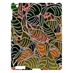 Floral Pattern Background Apple Ipad 3/4 Hardshell Case by Simbadda