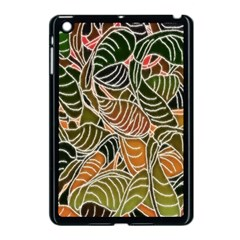 Floral Pattern Background Apple Ipad Mini Case (black) by Simbadda