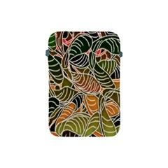 Floral Pattern Background Apple Ipad Mini Protective Soft Cases by Simbadda