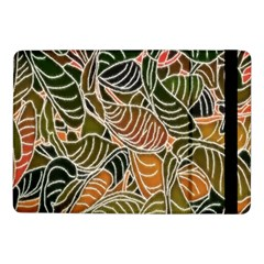 Floral Pattern Background Samsung Galaxy Tab Pro 10 1  Flip Case by Simbadda