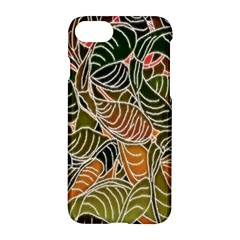 Floral Pattern Background Apple Iphone 7 Hardshell Case by Simbadda