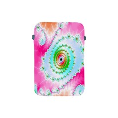 Decorative Fractal Spiral Apple Ipad Mini Protective Soft Cases by Simbadda