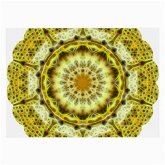Fractal Flower Large Glasses Cloth by Simbadda