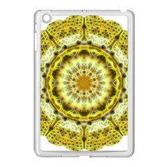 Fractal Flower Apple Ipad Mini Case (white) by Simbadda