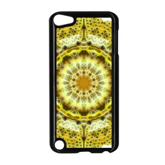 Fractal Flower Apple Ipod Touch 5 Case (black) by Simbadda