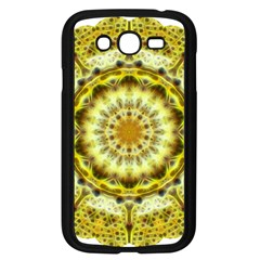 Fractal Flower Samsung Galaxy Grand Duos I9082 Case (black) by Simbadda