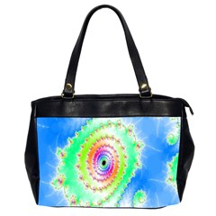 Decorative Fractal Spiral Office Handbags (2 Sides)