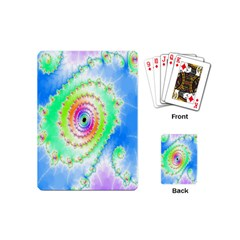 Decorative Fractal Spiral Playing Cards (mini)