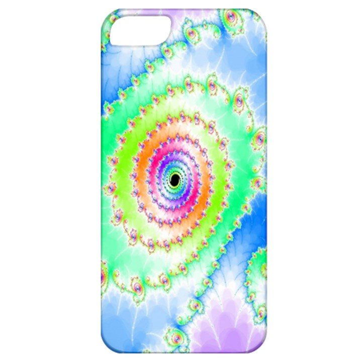 Decorative Fractal Spiral Apple iPhone 5 Classic Hardshell Case