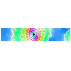 Decorative Fractal Spiral Flano Scarf (large) by Simbadda
