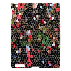 Colorful Abstract Background Apple Ipad 3/4 Hardshell Case by Simbadda