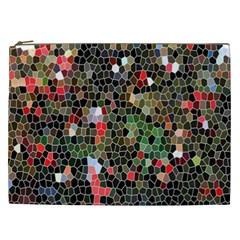 Colorful Abstract Background Cosmetic Bag (xxl)