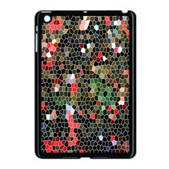 Colorful Abstract Background Apple Ipad Mini Case (black) by Simbadda