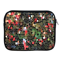Colorful Abstract Background Apple Ipad 2/3/4 Zipper Cases