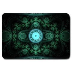 Grand Julian Fractal Large Doormat  by Simbadda