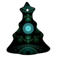 Grand Julian Fractal Christmas Tree Ornament (two Sides) by Simbadda