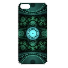 Grand Julian Fractal Apple Iphone 5 Seamless Case (white) by Simbadda