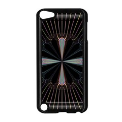 Fractal Rays Apple Ipod Touch 5 Case (black) by Simbadda
