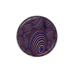 Abstract Colorful Spheres Hat Clip Ball Marker by Simbadda