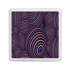 Abstract Colorful Spheres Memory Card Reader (square)