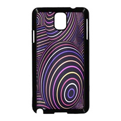 Abstract Colorful Spheres Samsung Galaxy Note 3 Neo Hardshell Case (black) by Simbadda