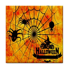Halloween Weird  Surreal Atmosphere Tile Coasters by Simbadda