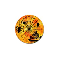 Halloween Weird  Surreal Atmosphere Golf Ball Marker (4 Pack) by Simbadda