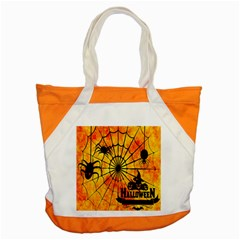 Halloween Weird  Surreal Atmosphere Accent Tote Bag by Simbadda