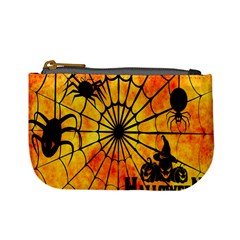 Halloween Weird  Surreal Atmosphere Mini Coin Purses by Simbadda