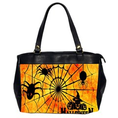 Halloween Weird  Surreal Atmosphere Office Handbags (2 Sides)  by Simbadda
