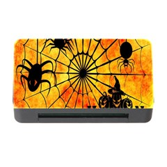 Halloween Weird  Surreal Atmosphere Memory Card Reader With Cf by Simbadda