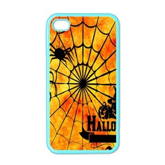 Halloween Weird  Surreal Atmosphere Apple Iphone 4 Case (color) by Simbadda