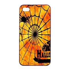 Halloween Weird  Surreal Atmosphere Apple Iphone 4/4s Seamless Case (black) by Simbadda