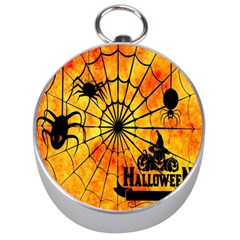 Halloween Weird  Surreal Atmosphere Silver Compasses by Simbadda