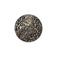 Wallpaper Texture Pattern Design Ornate Abstract Golf Ball Marker (4 Pack)