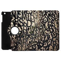 Wallpaper Texture Pattern Design Ornate Abstract Apple Ipad Mini Flip 360 Case by Simbadda