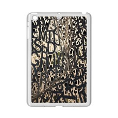 Wallpaper Texture Pattern Design Ornate Abstract Ipad Mini 2 Enamel Coated Cases by Simbadda
