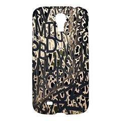 Wallpaper Texture Pattern Design Ornate Abstract Samsung Galaxy S4 I9500/i9505 Hardshell Case by Simbadda