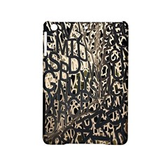 Wallpaper Texture Pattern Design Ornate Abstract Ipad Mini 2 Hardshell Cases