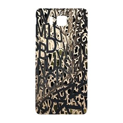 Wallpaper Texture Pattern Design Ornate Abstract Samsung Galaxy Alpha Hardshell Back Case