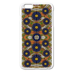 Fleur Flower Porcelaine In Calm Apple Iphone 6 Plus/6s Plus Enamel White Case by pepitasart