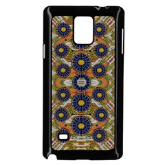 Fleur Flower Porcelaine In Calm Samsung Galaxy Note 4 Case (black) by pepitasart