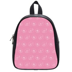 Pink Pattern School Bags (small)  by Valentinaart