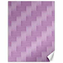 Purple Pattern Canvas 12  X 16   by Valentinaart