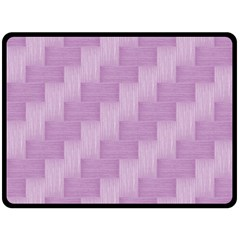 Purple Pattern Fleece Blanket (large)  by Valentinaart